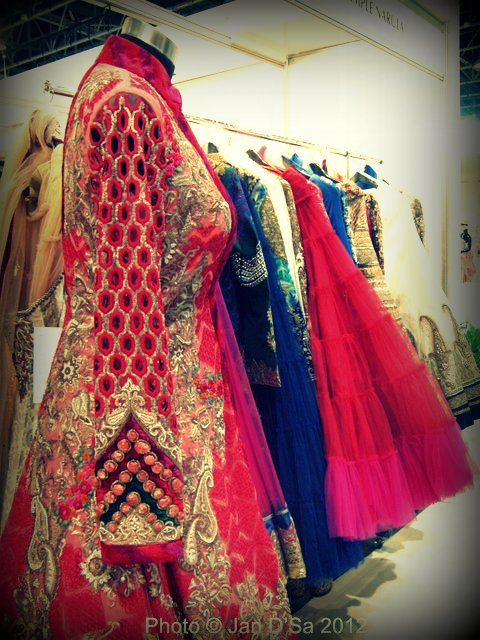 Gorgeous and intricate work on bridal trousseau