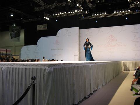 Trip down memory lane - at the 2008 Swarovski Abaya competition in Abu Dhabi