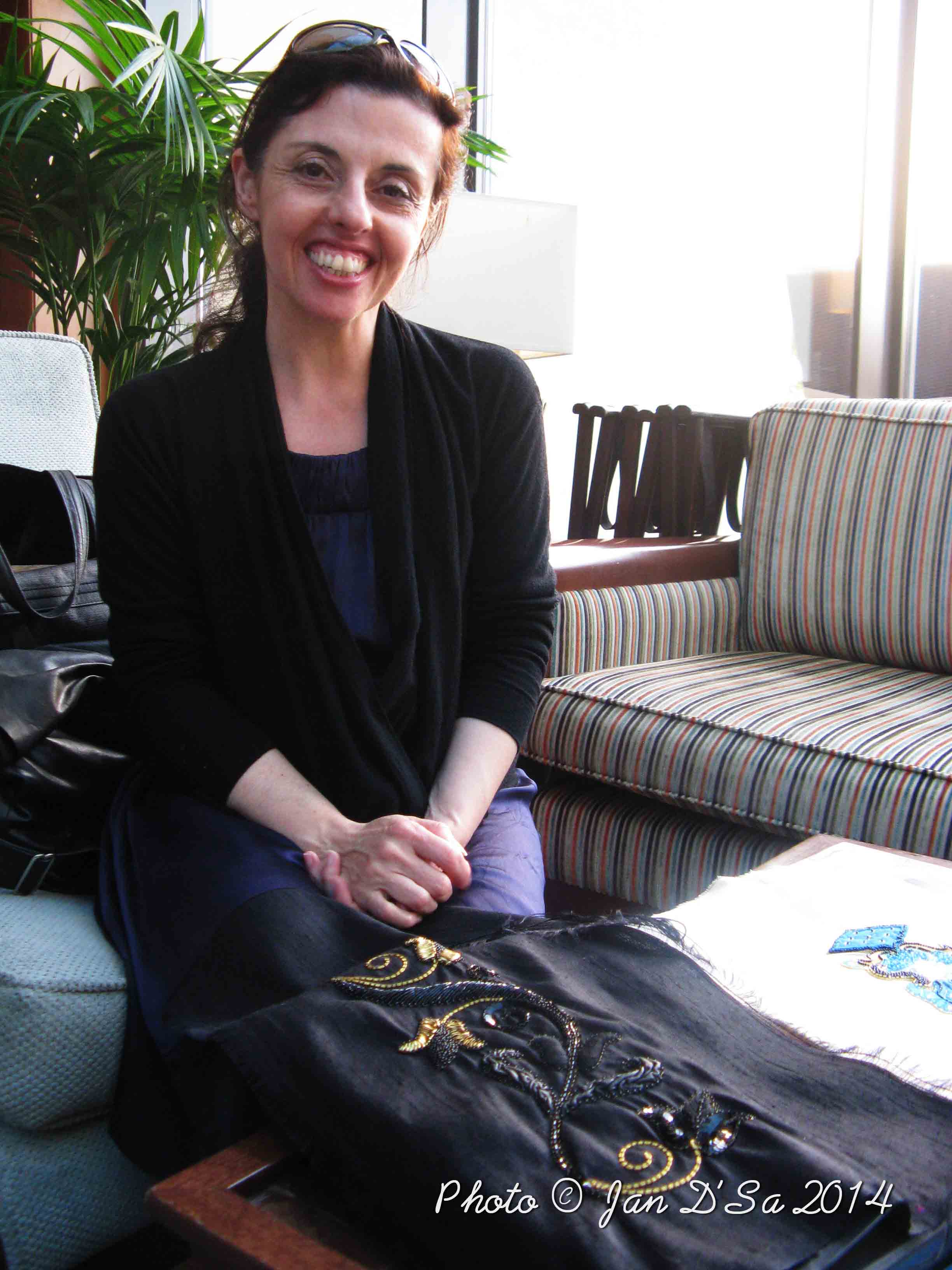 French Haute Couture Embroiderer Elisabeth Rolleau has her 'eye' on Dubai