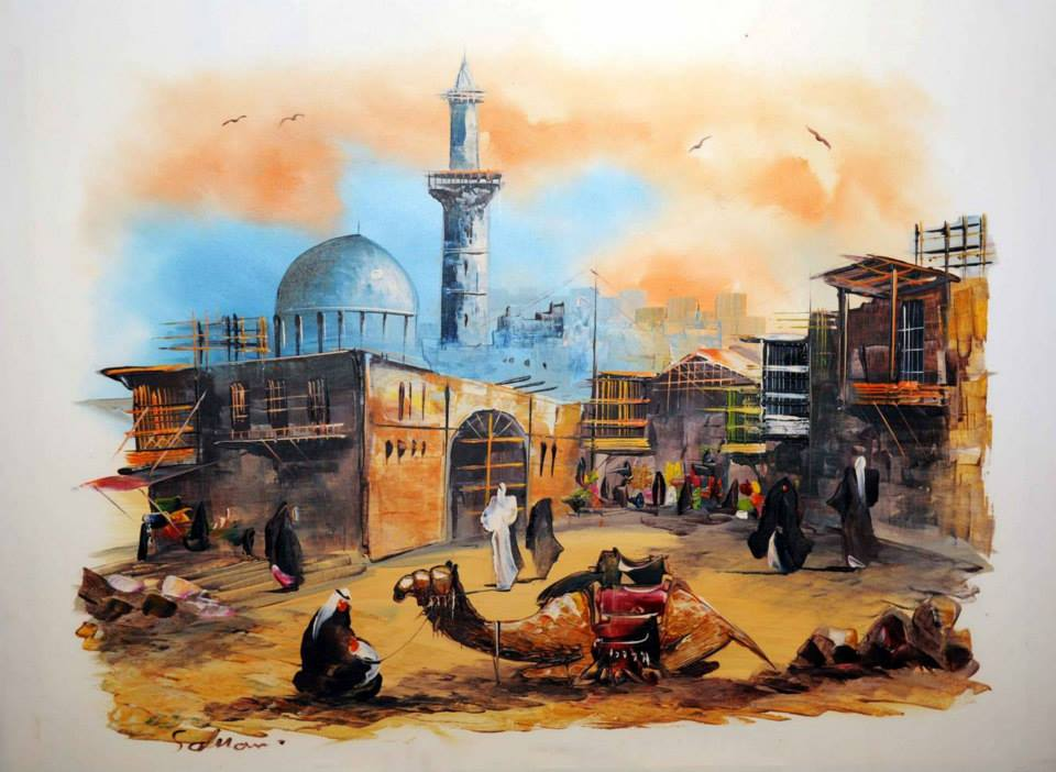 D Painting Exhibition In Dubai : Jan d sa visits islamic art splendour exhibition at