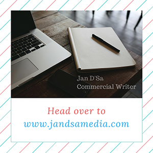 Jan DSa Commercial Writing