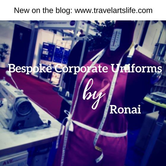 Bespoke corporate uniforms making process by Ronai