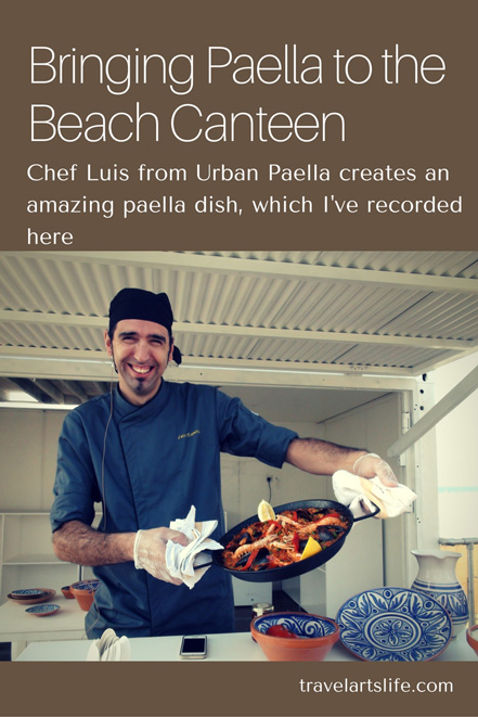 Bringing Paella to the Beach Canteen